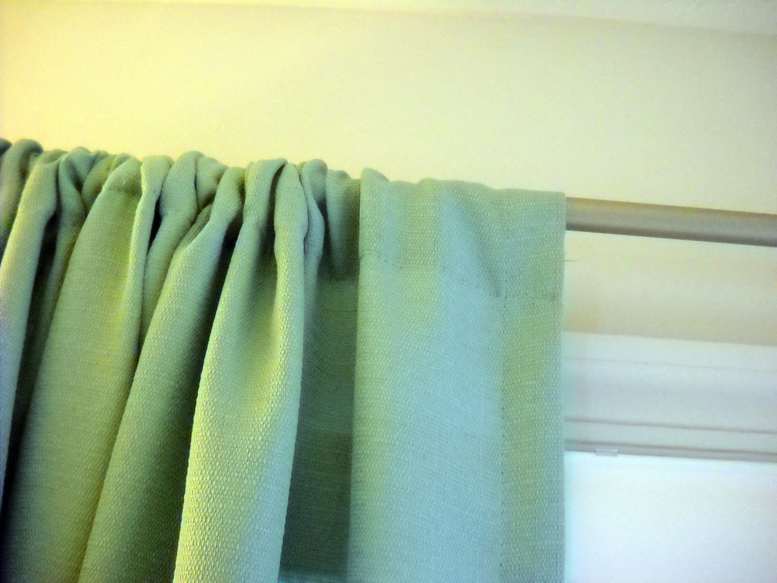 how to make gathered curtains
