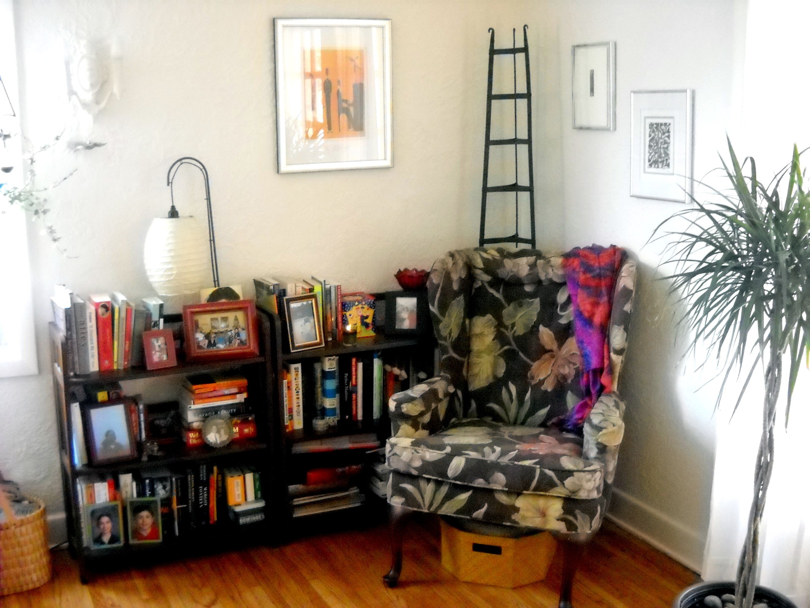 Road trip Reading nook in living room