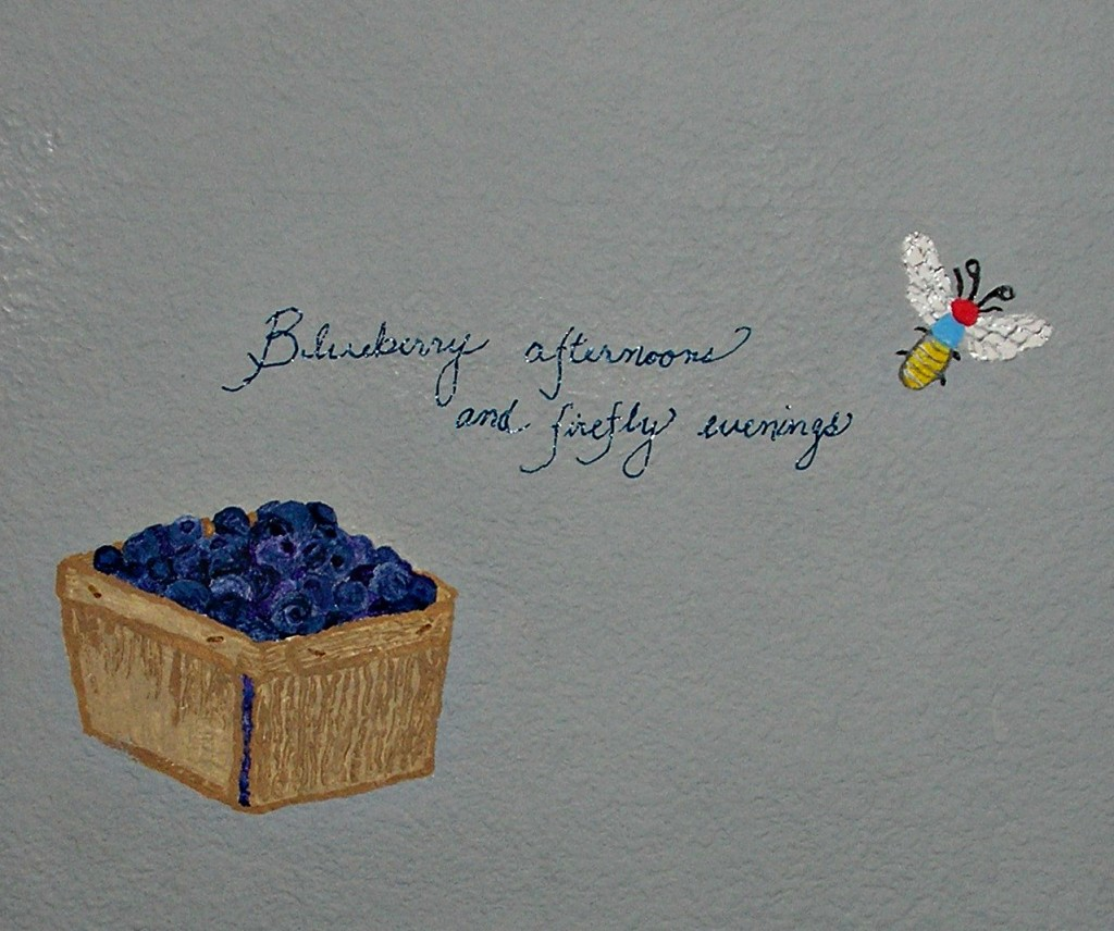 blueberries and fireflies