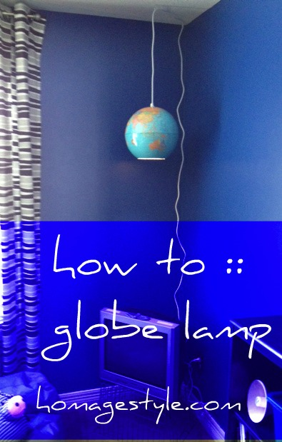 globe lamp how to