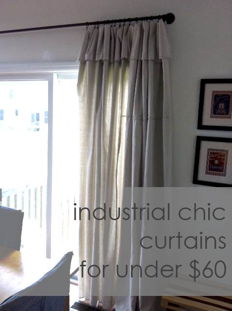 Industrial Chic Curtains